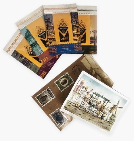Retro Envelope Card